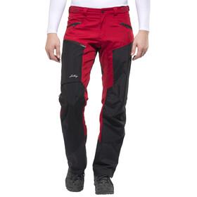 Lundhags Antjah lange broek Heren rood/zwart